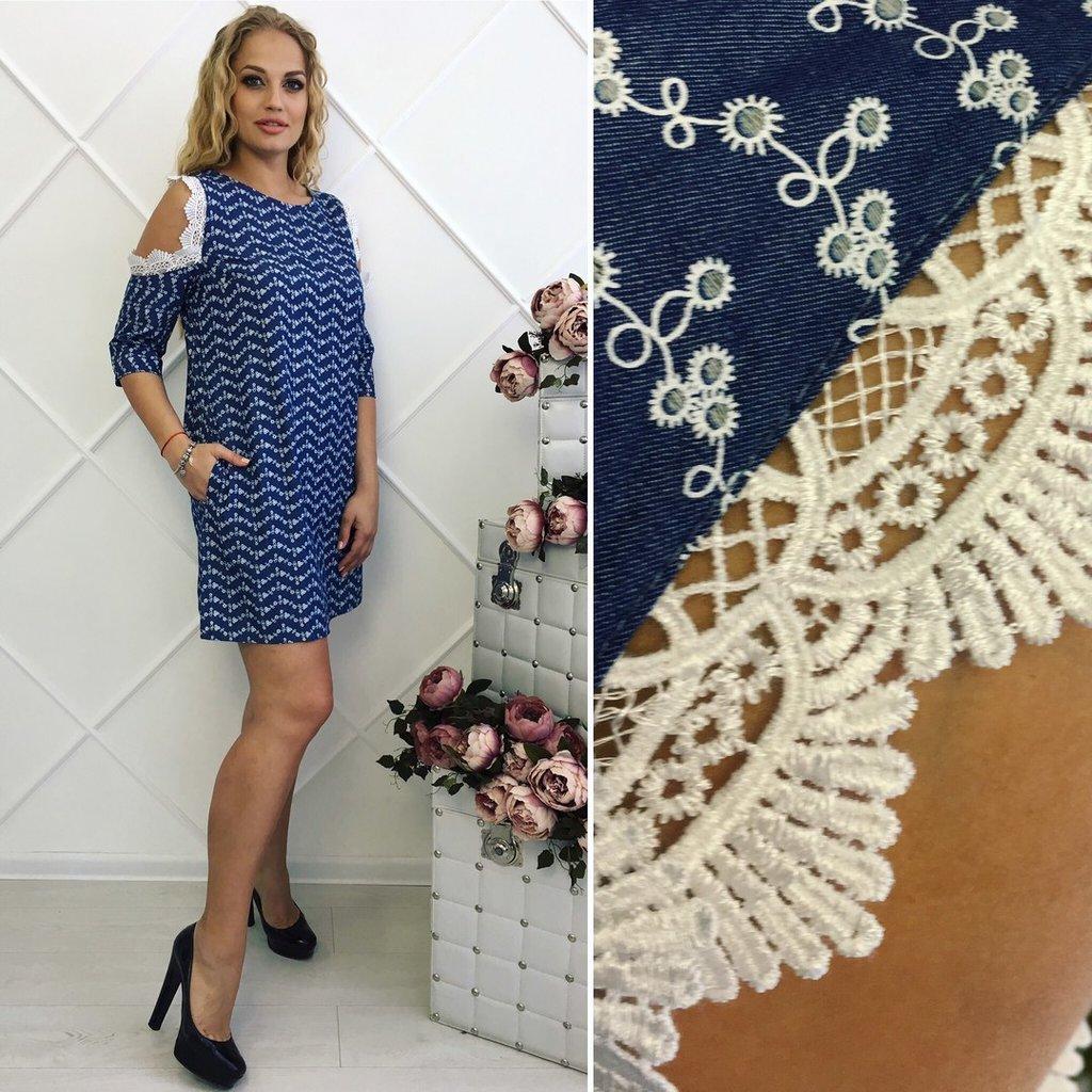 Ткань джинса на платье