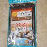 Силиконовый бампер на Lenovo A880.