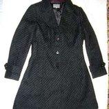 пальто Per Una размер 46 / 12 плащ шерсть черное женское демисезонное продается плащ пальто