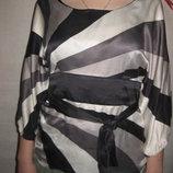 10-12 р-р, неимоверно воздушная блузка из натурального шёлка