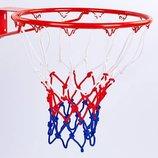 Сетка баскетбольная 5642 сетка для баскетбольного кольца полипропилен, в комплекте 2 сетки