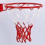 Сетка баскетбольная 5643 сетка для баскетбольного кольца полиэстер, в комплекте 2 сетки