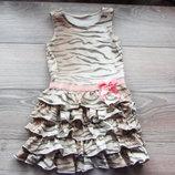 нарядное платье на 4-6 года. фирма H&M. состояние отличное