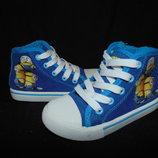Кеды Minions 25р,ст 16 см.Мега выбор обуви и одежды