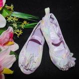 Балеточки с открытым носком H&M 25р,ст 15,5см.Мега выбор обуви и одежды