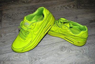 6b9960fc Яркие салатовые NIKE AIR 37 24 см кроссовки: 400 грн - женские ...