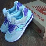 Кроссовки женские New Balance Encap 574 Gray purple