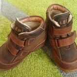Ботинки кожаные,ботиночки,черевики шкіряні,SympaTex.