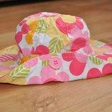 Красивая стильная шляпа на 6-12 мес.