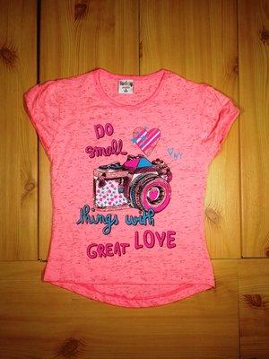 Детская футболка для девочки Фотоаппарат Beebaby Бибеби