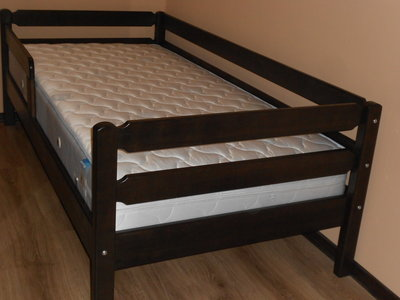 Кровать венге Тимошка натуральное дерево 90 190