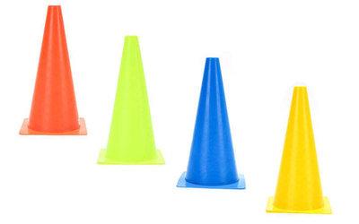 Фишка конус барьер тренировочный 5910 размер 48см, мягкий пластик