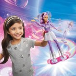 Barbie Star Light Adventure Lights & Sounds Hoverboarder Барби на Ховерборде космические приключения