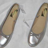 Балетки туфлі шкіряні made in italy розмір 38 39