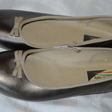 Балетки туфлі шкіряні made in italy розмір 39 40