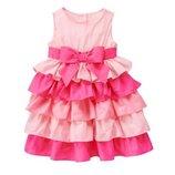 Платье праздничное на девочку gymboree