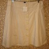Оригинальная юбка на пуговицах H&M 16 р Турция