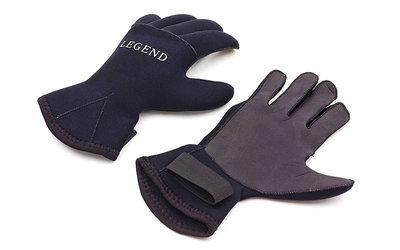 Перчатки для дайвинга Legend 6110 неопрен, размер M-XL