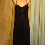 Гипюровое платье -стрейч LOOK 14-16 р Romania