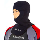 Шлем для дайвинга Legend 6304 неопрен 3мм, размер M-XXL