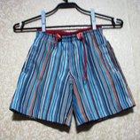 Шорты рост 110 BEACH WEAR с сеточкой детские смотри замеры, распродажа, брюки, бриджи шикарно смотр