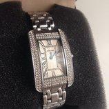 Шикарные женские часы Cartier, отличная реплика Cartier Tank Americain