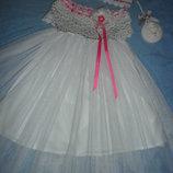 Нарядное платье для маленькой принцессы и аксессуары
