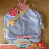 Одежда для Беби Борн Baby Born голубой костюмчик