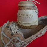 Топсайдеры Sperry натур кожа 39-40 разм