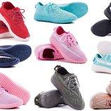 SALE Летние женские кроссовки кеды под Adidas Yeezy Boost Sply 350 изи буст мятные розовые беж
