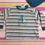 Пижама детская махровая для мальчика Impidimpi, 2-6 мес.