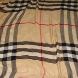 большой платок Burberry оригинал кашемир Шотландия 144Х150