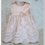 Шикарный комплект для маленькой принцессы Версаль. Набор платье и повязка