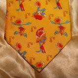 галстук Creation Projectif оригинал Франция шелк