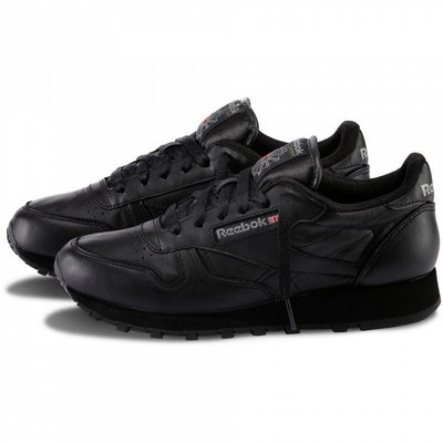5dad0f4eb6f6 Мужские кроссовки Reebok Classic Leather Black M  1190 грн ...