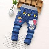 Прекрасные джинсы рост 90, 100, 110, 115, 120