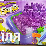 Набор креативного творчества кинетический песок KidSand 1600г , KS-02-01 Данко тойс