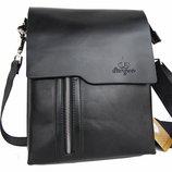 Большая мужская сумка планшет Langsa под А4 Размер 30 на 23см Кс71