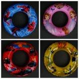 Круг надувной 55см для купания 779-705 Миньены, Покемоны,тачки,софия