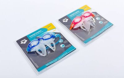Очки для плавания детские с рассекателем Arena 1E053 FS Breather Kit Jr TPR силикон, 2 цвета