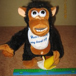интерактивная обезьянка забери банан
