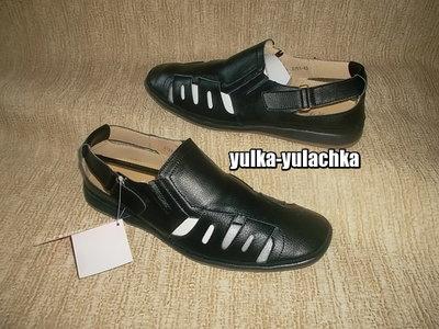Мужские Кожаные сандалии закрытого типа