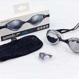Очки для плавания Speedo 8092997649 Aquapulse Mirror поликарбонат, TPR, силикон