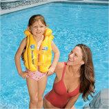 Детский надувной жилет intex 58660, 3-6 лет