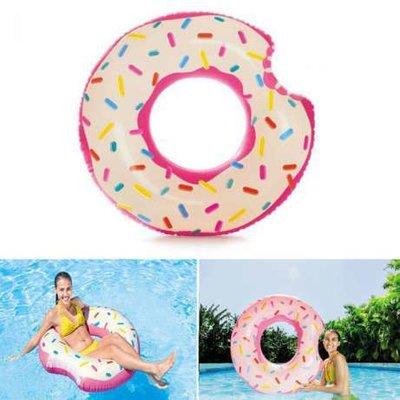Круг надувной Пончик, Intex 56265, 104 см