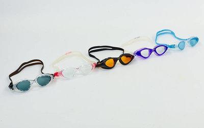 Очки для плавания Arena 92381 Cruiser Easy Fit поликарбонат, TPR, силикон, 5 цветов