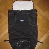 Фирменный утепленный чехол, конверт в коляску Chicco