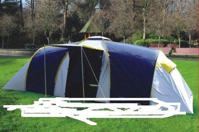 Палатка Abarqs Clif-8, тамбур, проклеенные швы. Польша.