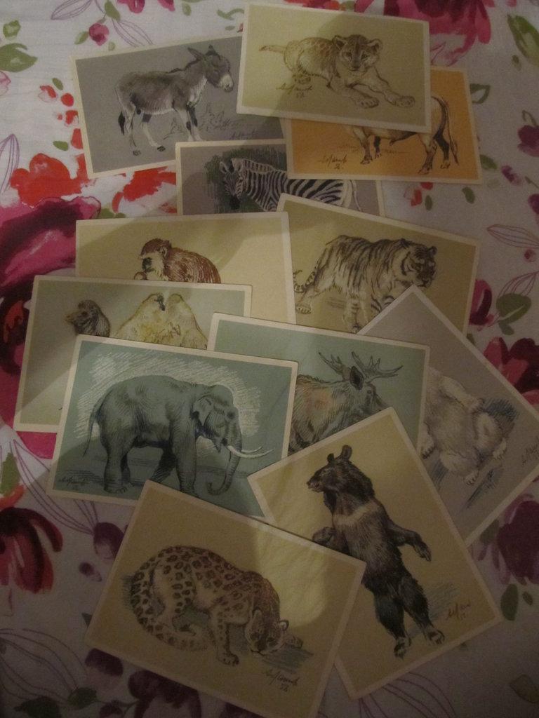 Коллекционные наборы открыток