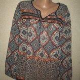 Шифоновая блуза Peacocks р-р16